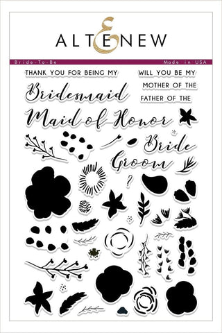 "Altenew 6"" x 8"" Clear Stamp Bride-To-Be"