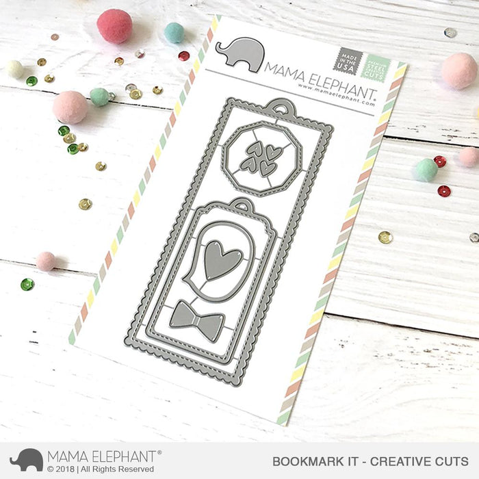 Mama Elephant Creative Cuts Bookmark It