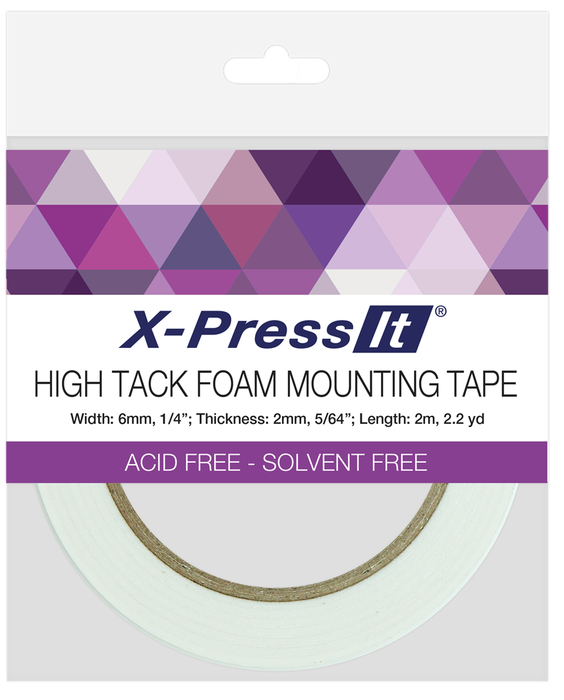 Copic X-Press It Foam Tape Acid Free High Tack 2mm x 6mm FTH6 | Maple Treehouse