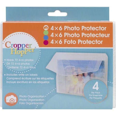 "Cropper Hopper Photo-Negative Protector 4-Pkg 4"" X 6"" CH46-4P 