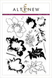 "Altenew 6"" x 8"" Clear Stamp Crown Bloom"
