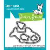 Lawn Fawn Lawn Cuts Custom Craft Die Duh-nuh LF1420