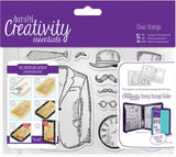 Docrafts Creativity Essentials A6 Clear Stamp Set 11-Pkg Mister CE907121 | Maple Treehouse