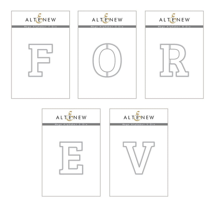 Altenew Die Mega Alphabet 'Forever' Bundle