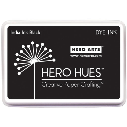 Hero Arts Hues Dye Ink Pad India Ink Black AF248 | Maple Treehouse