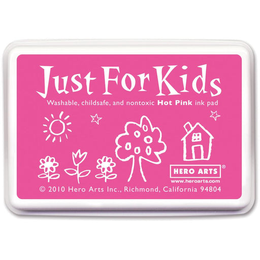 Hero Arts Just For Kids Inkpad Hot Pink JFKINK CS105 | Maple Treehouse
