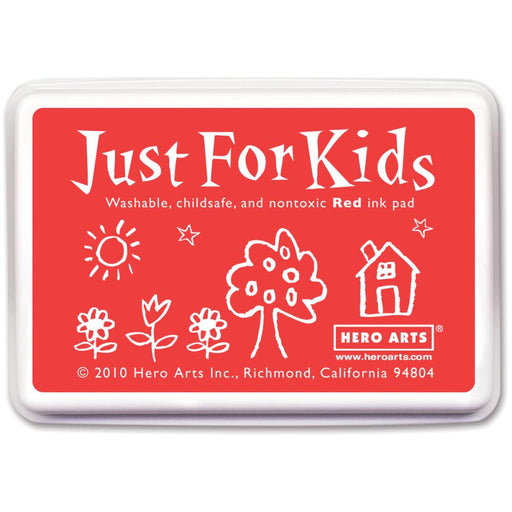 Hero Arts Just For Kids Inkpad Red JFKINK CS103 | Maple Treehouse