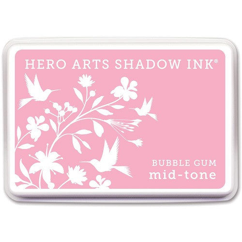 Hero Arts Midtone Ink Pads Bubble Gum MIDTONE AF208 | Maple Treehouse