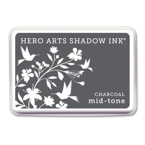 Hero Arts Midtone Ink Pads Charcoal MIDTONE AF236 | Maple Treehouse