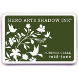 Hero Arts Midtone Ink Pads Forever Green MIDTONE AF229 | Maple Treehouse