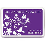 Hero Arts Midtone Ink Pads Grape Juice MIDTONE AF227 | Maple Treehouse