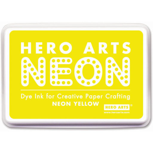 Hero Arts Neon Ink Yellow NEONINK AF220 | Maple Treehouse