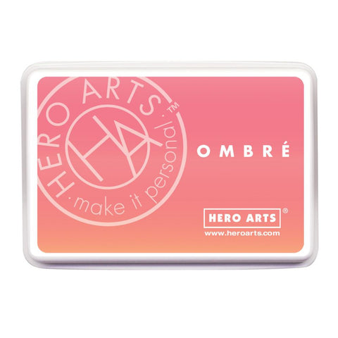 Hero Arts Ombre Ink Pad Light To Dark Peach OMBRE AF312 | Maple Treehouse