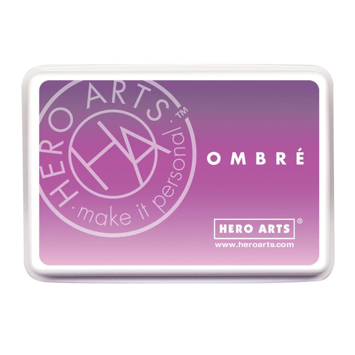 Hero Arts Ombre Ink Pad Lilac To Grape OMBRE AF313 | Maple Treehouse