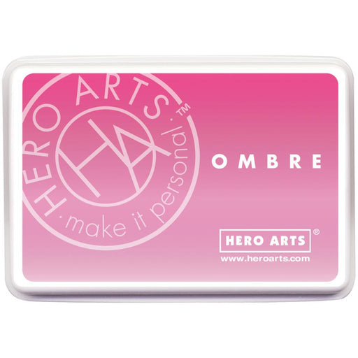 Hero Arts Ombre Ink Pad Pink To Red OMBRE AF306 | Maple Treehouse