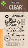 "Hero Arts Clear Stamps 4"" x 6"" Acts Of Kindness HA-CL911 