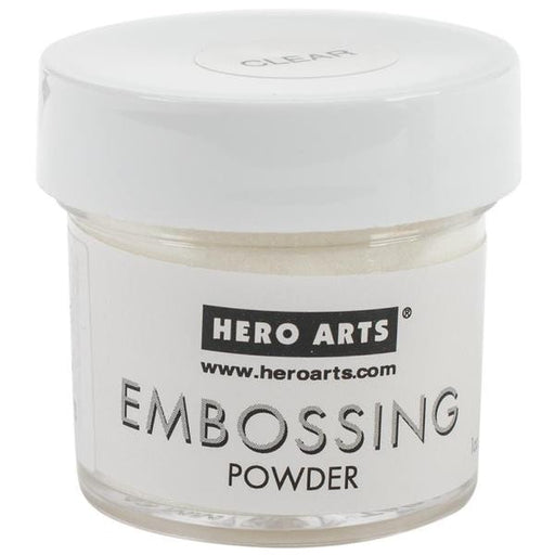 Hero Arts Embossing Powders 1oz Clear PW PW104 | Maple Treehouse