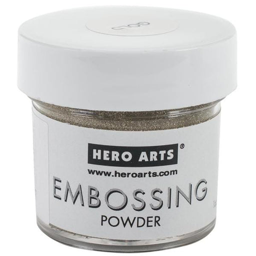 Hero Arts Embossing Powders 1oz Gold PW PW100 | Maple Treehouse