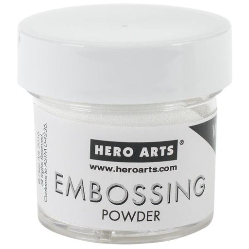 Hero Arts Embossing Powders 1oz White PW PW110 | Maple Treehouse