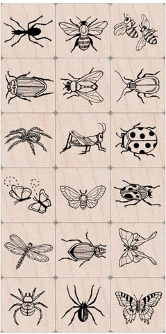 "Hero Arts Ink 'n Stamp Tub 3"" x 4"" Bugs HA-TUB-LL375 