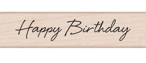 "Hero Arts Mounted Rubber Stamp .5"" x 3"" Little Greetings Happy Birthday HA-C5594 