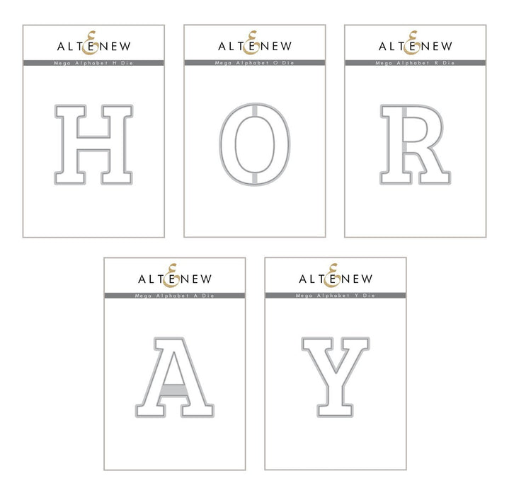 Altenew Mega Alphabet 'Hooray' Bundle