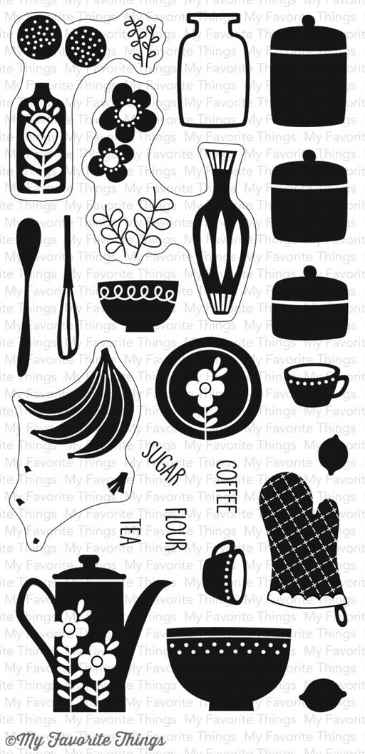 My Favorite Things Clear Stamp Kitschy Kitchen CS-161 | Maple Treehouse