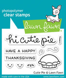 "Lawn Fawn Clear Stamp 2""x3"" Cutie Pie LF1210 