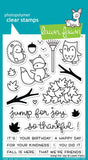 "Lawn Fawn Clear Stamps 4""x6"" Jump For Joy  LF1212 