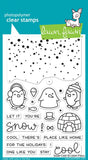 "Lawn Fawn Clear Stamps 4"" x 6"" Snow Cool LF1226 