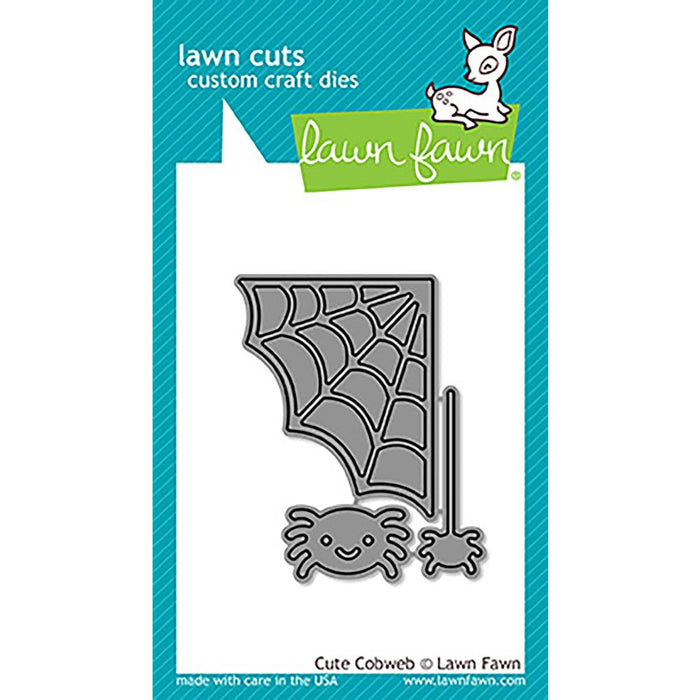 Lawn Fawn Lawn Cuts Custom Craft Dies Cute Cobweb LF1492
