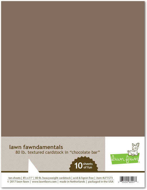 Lawn Fawn Cardstock Chocolate Bar LF1573