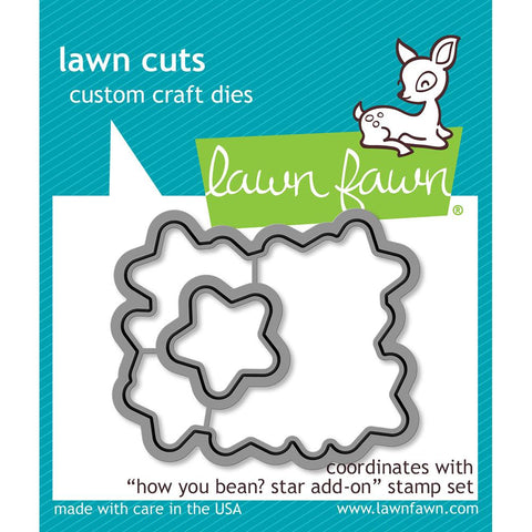 Lawn Cuts Custom Craft Die How You Bean? Stars LF1691