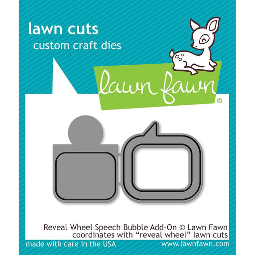 Lawn Fawn Cuts Reveal Wheel Speech Bubble LF1702