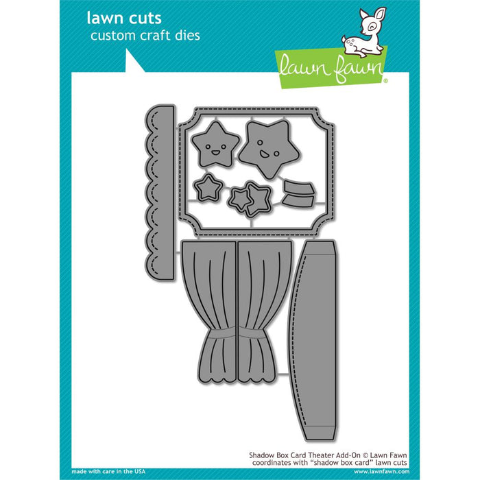 Lawn Cuts Custom Craft Die Shadow Box Card Theater LF1706