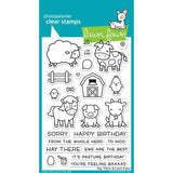 "Lawn Fawn Clear Stamps 4""X6"" Hay There LF1595"