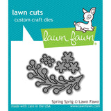 Lawn Cuts Custom Craft Die Spring Sprig LF1620