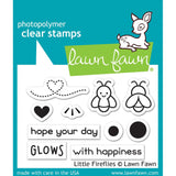 "Lawn Fawn Clear Stamps 3""X2"" Little Fireflies LF1593"