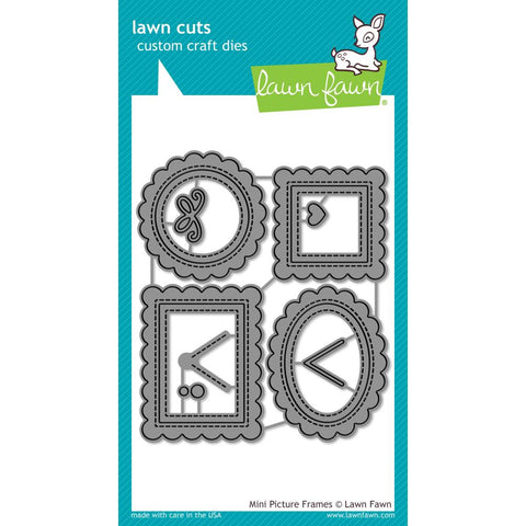 Lawn Cuts Custom Craft Die Mini Picture Frames LF1623
