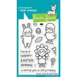 "Lawn Fawn Clear Stamps 3""X2"" Easter Party LF1589"