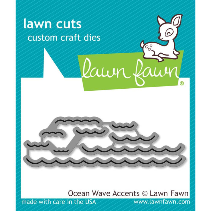Lawn Fawn Cuts Die Ocean Wave Accents LF1436