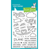 "Lawn Fawn Clear Stamps 4"" x 6"" Plane And Simple LF1409"