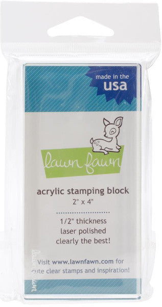"Lawn Fawn 2"" x 4"" Block LF500 