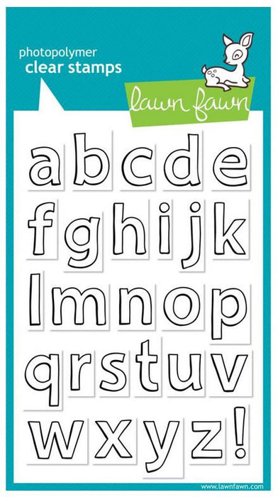 "Lawn Fawn Clear Stamps 4"" x 6"" Quinn's ABCs LF353 
