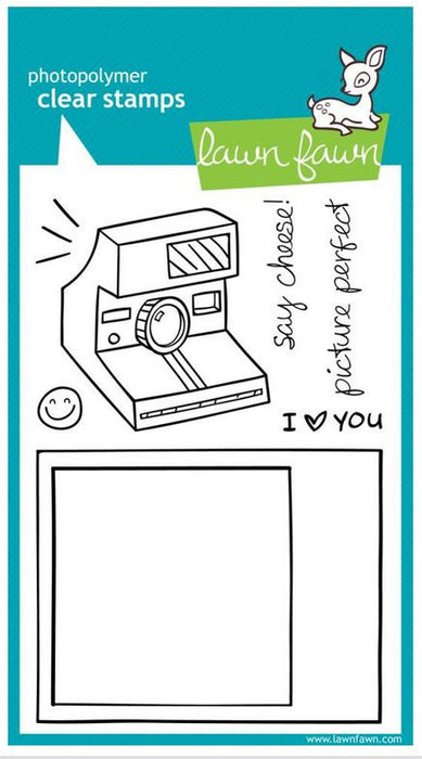 "Lawn Fawn Clear Stamps 4"" x 6"" Say Cheese LF322 