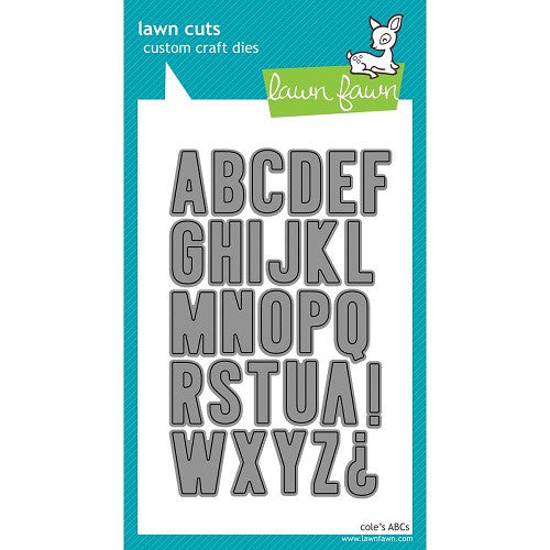 Lawn Fawn Dies Lawn Cuts Custom Craft Die Cole's ABC's LF576 | Maple Treehouse