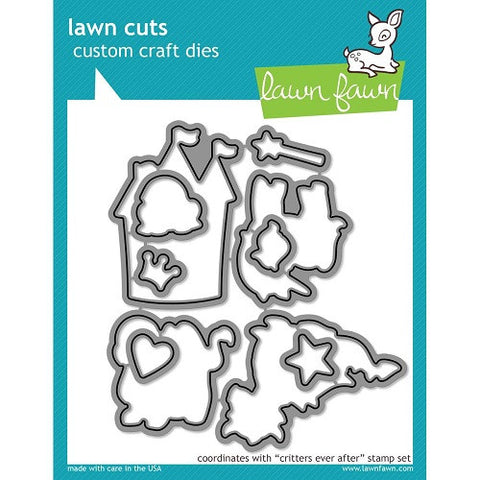 Lawn Fawn Dies Lawn Cuts Custom Craft Die Critters Ever After LF590 | Maple Treehouse