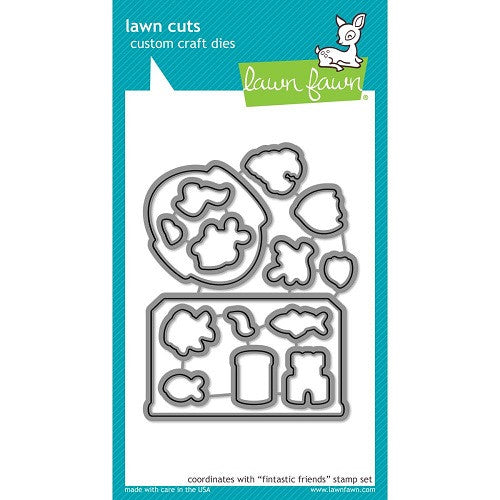 Lawn Fawn Dies Lawn Cuts Custom Craft Die Fin-Tastic Friends LF892 | Maple Treehouse