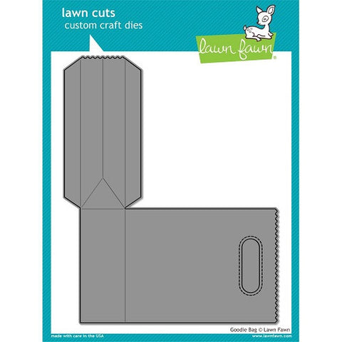 Lawn Fawn Dies Lawn Cuts Custom Craft Die Goodie Bag LF771 | Maple Treehouse