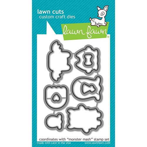 Lawn Fawn Dies Lawn Cuts Custom Craft Die Monster Mash LF701 | Maple Treehouse